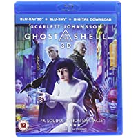 Ghost in the Shell 3D + 2D Blu-RayTM + digital download