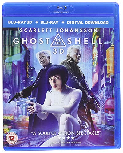 Blu-ray2 - Ghost In The Shell (2D Bd +3D Bd) (2 BLU-RAY)