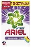 Ariel Colorwaschmittel Pulver, 130 Waschladungen