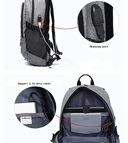 3b3407d91c15a ... ACMEDE Top-Model Sportrucksack Notebook-Rucksack  Studenten-Rucksack  mit USB