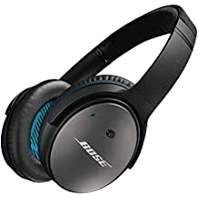 Bose QuietComfort 25 Acoustic Around-Ear Noise Cancelling Headphones for Apple Devices - Black