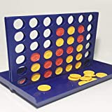 Ballylelly Trois échecs Quatre Jeux d'échecs Éducation préscolaire Interaction Parent-Enfant 1 Ensemble Connect 4 en Ligne Conseil Jeu Classique de (Multicolore)
