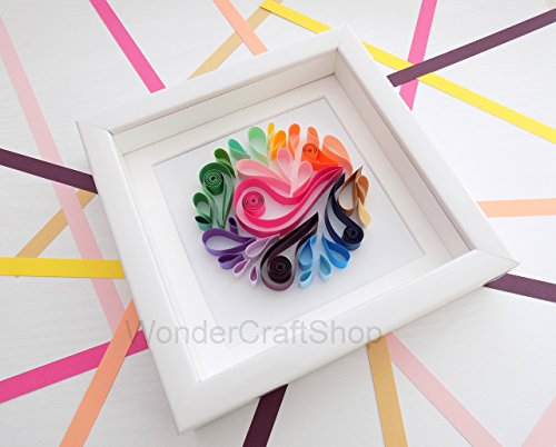 colorful-paper-splash-ball-4-seasons-3d-abstract-art-nursery-wall-decor-shadow-box-art-bedroom-decor