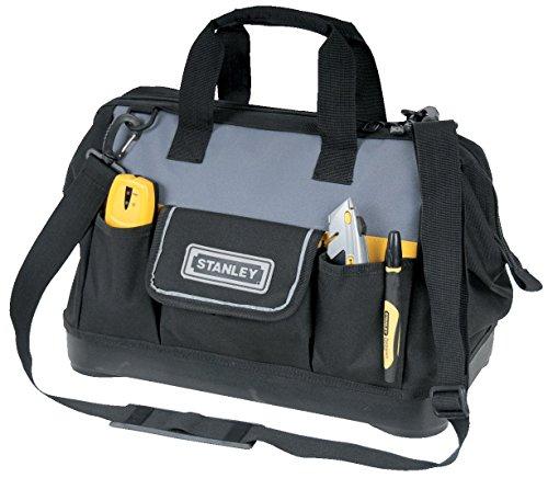 Stanley Werkzeugtasche, 44.7x27.5x23.5 cm, 600 Denier Nylon, verstellbarer Schultergurt, wasserdicht, 1-96-183