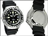 Profi Taucher Uhr m. Automatik Werk Saphir Glas Helium Ventil von Tauchmeister T0046 - 3