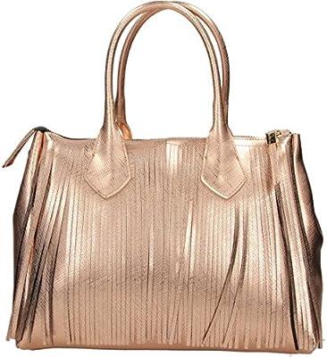 GUM GIANNI CHIARINI DESIGN - Bolso de asas para mujer oro rosa oro rosa TU