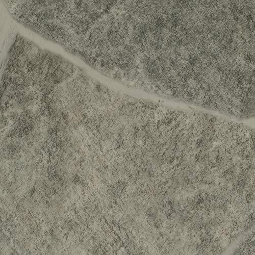 PVC Vinyl-Bodenbelag in Bruchstein Grau Optik | CV PVC-Belag verfügbar in der Breite 200 cm & Länge 150 cm | CV-Boden wird in benötigter Größe als Meterware geliefert & pflegeleicht