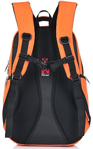 Binlion Taikes Daily Backpack with Lap Top Layer Orange02