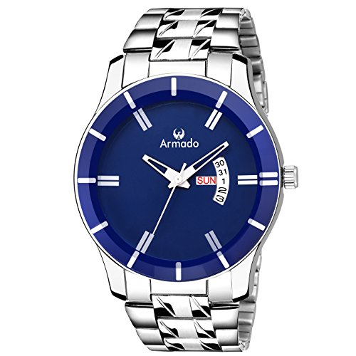 Armado AR-205-BLU Day and Date Watch -for Men