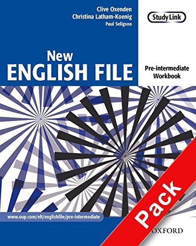 New English File Pre-Intermediate. Workbook with Key and MultiROM Pack: Workbook with Answer Booklet and Multirom Pack Pre-intermediate lev (New English File Second Edition)