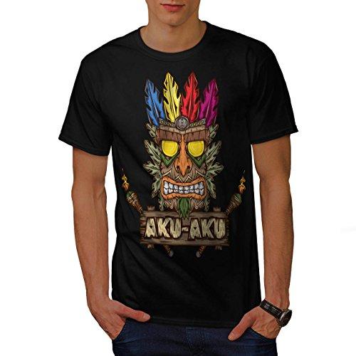 Tradition Gesicht Maske Bandicoot Herren M T-shirt | Wellcoda