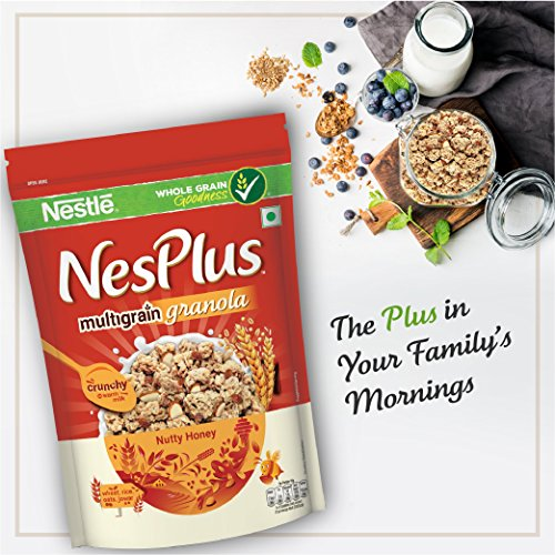 5. Nestlé NesPlus Breakfast Multigrain Granola