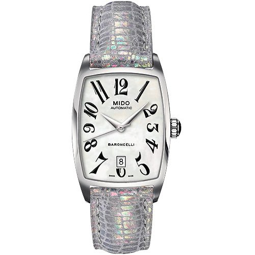 Mido Ladies Watch Automatic Baroncelli Tonneau M0033071612200