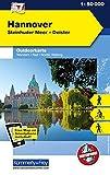 Hannover, Steinhuder Meer, Deister: Nr. 57, Outdoorkarte Deutschland, Mit kostenlosem Download für Smartphone (Kümmerly+Frey Outdoorkarten Deutschland)