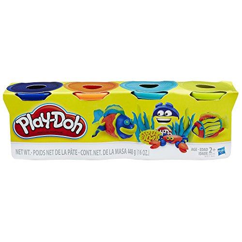 hasbro-play-doh-4er-pack-dunkelblau-orange-neonblau-neongrun-knete