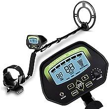 INTEY Pantalla LCD Detector De Metales 9,8