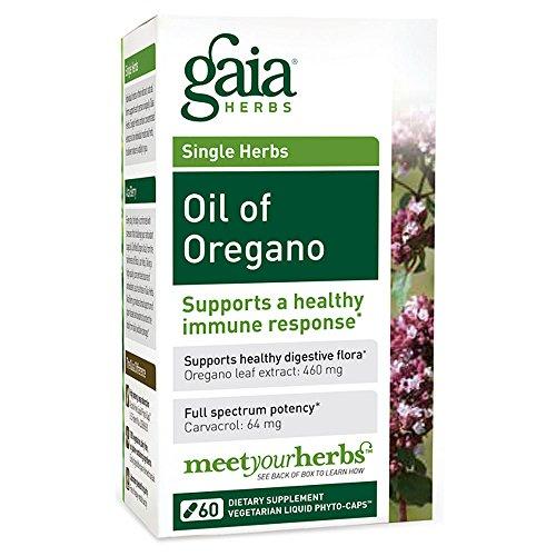 Gaia Herbs, Oil Of Oregano 60 veg. Kapseln - Oregano-Öl