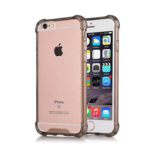 iPhone 6S Schutzhülle Klar TPU casehq Shop schlagfestem TPU Silikon Gel Back Cover Skin Soft, Hüllen Case für Apple iPhone 6 (2014) und iPhone 6S (2015)?, iPhone 6 Case Black CaseHQ, inspirational quotes ivory ella indian in pink (Durable Soft Case)