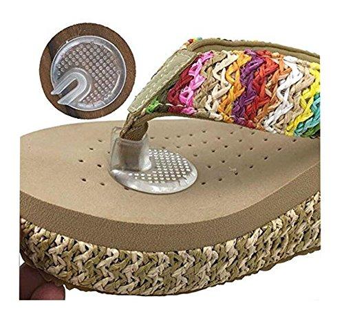 5 pares protectores silicona dedos pies, sandalias