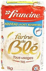 Francine Farine de Blé Tous Usages 1 kg