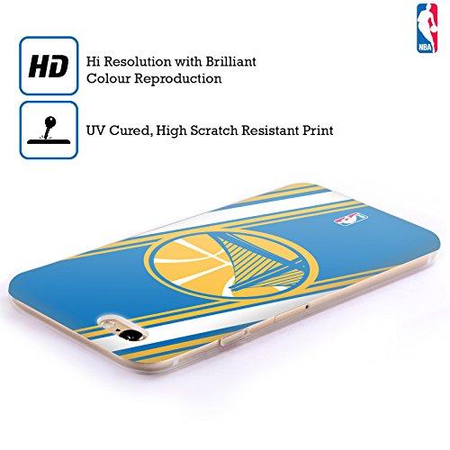 Ufficiale NBA Icona Oversize Golden State Warriors Cover Morbida In Gel Per Apple iPhone 6 / 6s Righe