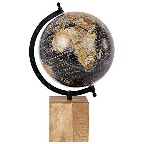 Globus groß Weltkugel Antik Stil Wandkarte Welt Weltkarte Historisch Vintage. Von Haus der Herzen
