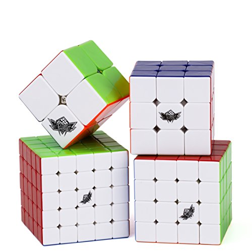 vdealen-bundle-speed-cube-2x2-3x3-4x4-5x5-stickerless-smooth-magic-cube-puzzles-toy-pack-of-4