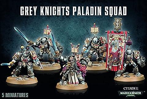 Grey Knights Paladin Squad (Warhammer 40k Figuren)