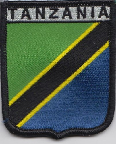 Aufnäher Patch Tansania Anstecknadel Fahne Flagge - Tansania Patch