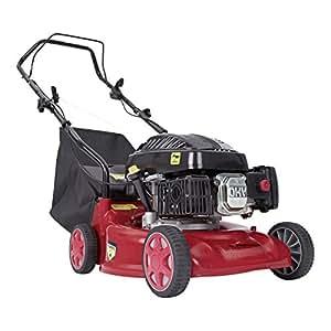 "Trueshopping 139cc Petrol Lawnmower 4 Stroke 4 Wheel Rotary Garden Easy Start High Quality Lawn Mower 16"" 2.5KW 3.5HP"