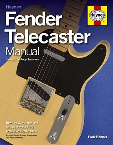 Fender Telecaster Manual Paperback por Paul Balmer
