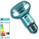5 Stück Osram Reflektorlampen R63 Halogen E27 klar 30 Watt 230 Volt 64542 Pro