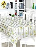 LIANGLIANG Umweltschutz EVA Tischdecken Wasserdicht Öl-Nachweis Tischmatten Tischdecke Tischplatte (größe : 137*137cm)