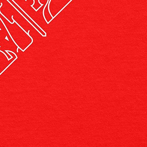 NERDO - GoT Houses Logo - Herren Kapuzenpullover Rot