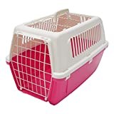 Rosewood Vision Free 2 Door Top Opening Cat and Pet Carrier 55 cm, Pink Panter