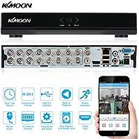 KKmoon 16 Canali 960H D1 CCTV DVR Videoregistratore Digitale Network
