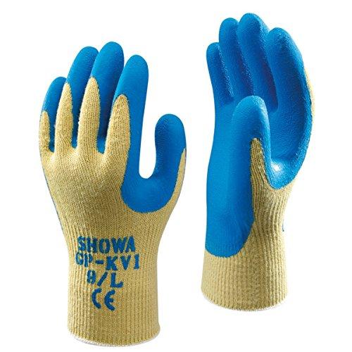Showa Best GP-KV1 Coupe 4 Gants en Kevlar Bleu Taille L