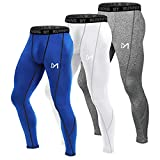 MEETYOO Legging Homme, Sport Pantalons et Compression Collant Cool Dry Fitness...