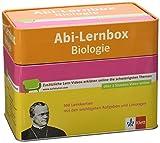 Klett Abi-Lernbox Biologie: 100 Lernkarten mit den wichtigsten Aufgaben fürs Abitur