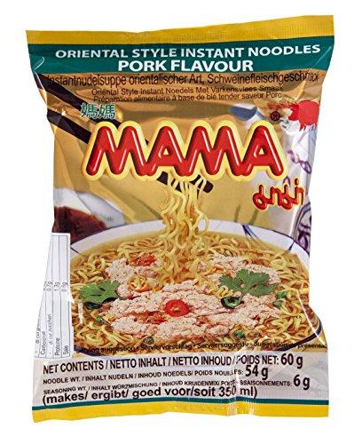 Mama Zuppa di Noodle Istantanea Al Gusto di Maiale - 30 x 60 gr