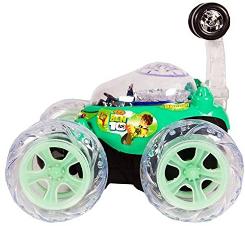Shy Products Rechargeable STUNT Racer Remote Control Car Kids Toys Battery Operated RC Music  available at amazon for Rs.499