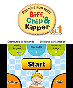Phonics Fun with Biff, Chip and Kipper Vol.1 [3DS Download Code] by Nintendo