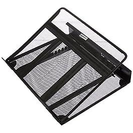 AmazonBasics – Supporto ventilato per laptop, regolabile in altezza, con organizer per cavi