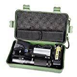 Flashlight, BBring X800 Zoomable XML T6 LED Tactical Police Flashlight+18650 Battery+Charger+Case Feature: - Best Reviews Guide