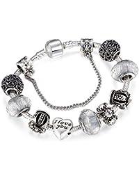 Dropshipping Vintage Couronne Royale Cristal Amour Charme Bracelet Femmes Chaîne Serpent Marque Bracelet Femmes Bijoux