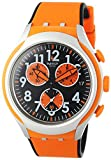 Swatch Herren-Armbanduhr Feel Strong Chronograph Quarz Silikon YYS4003