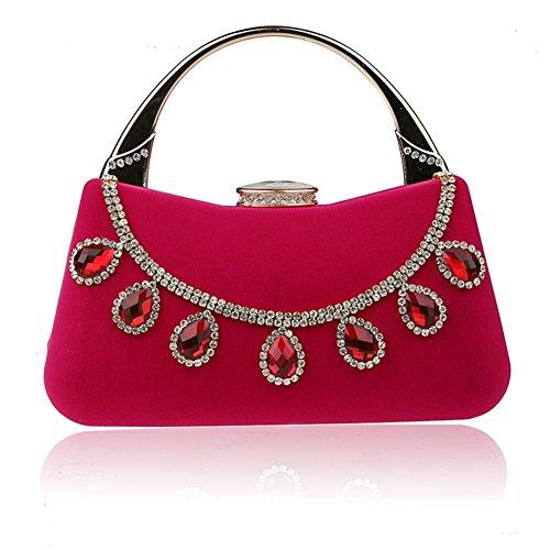 Frau Diamant Mini-Handtasche/Schönes Kleid Paket/Fashion Bankett-Paket/Abendtaschen/Braut Clutch/Brautjungfern-Paket-B B