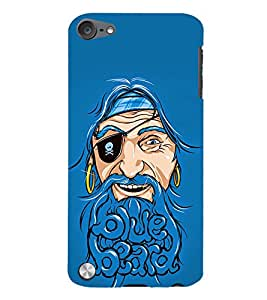 Beard Baba Fun 3D Hard Polycarbonate Designer Back Case Cover for Apple iPod Touch 5