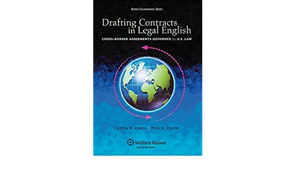 Buy drafting contracts in legal english cross border agreements buy drafting contracts in legal english cross border agreements governed by us law aspen coursebooks book online at low prices in india drafting platinumwayz