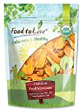 Food to Live Guance di mango Bio (Biologico, Organic, essiccate, non-OGM, cascer, non solforato, non zuccherate, alla rinfusa) - 1.4 Kg
